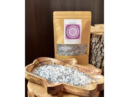 Aromaterapeutická himalájská sůl UVOLNĚNÍ - levandule, jasmín 300g