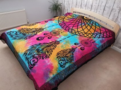Přehoz na postel LAPAČ SNŮ - velký