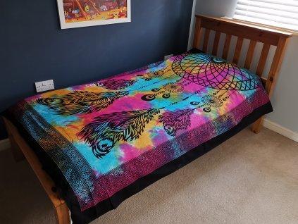 Přehoz na postel LAPAČ SNŮ - malý