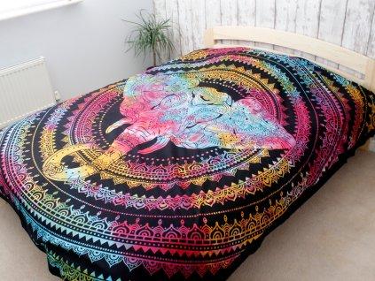Přehoz na postel SLON - velký