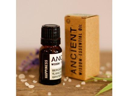 Směs esenciálních olejů ŠTĚSTÍ 10ml