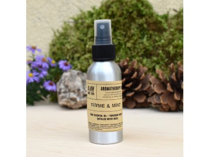 Aromaterapeutický bytový parfém MÁTA A TYMIÁN