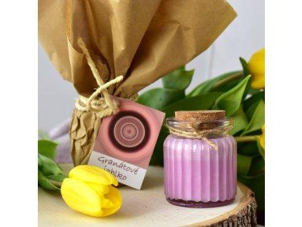 Aromaterapeutická svíčka GRANÁTOVÉ JABLKO