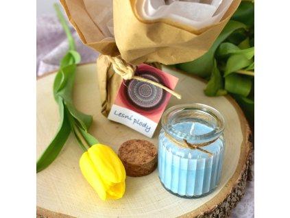 Aromaterapeutická svíčka LESNÍ PLODY