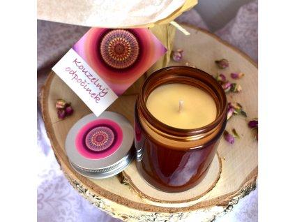 Aromaterapeutická svíčka KOUZELNÝ ODPOČINEK