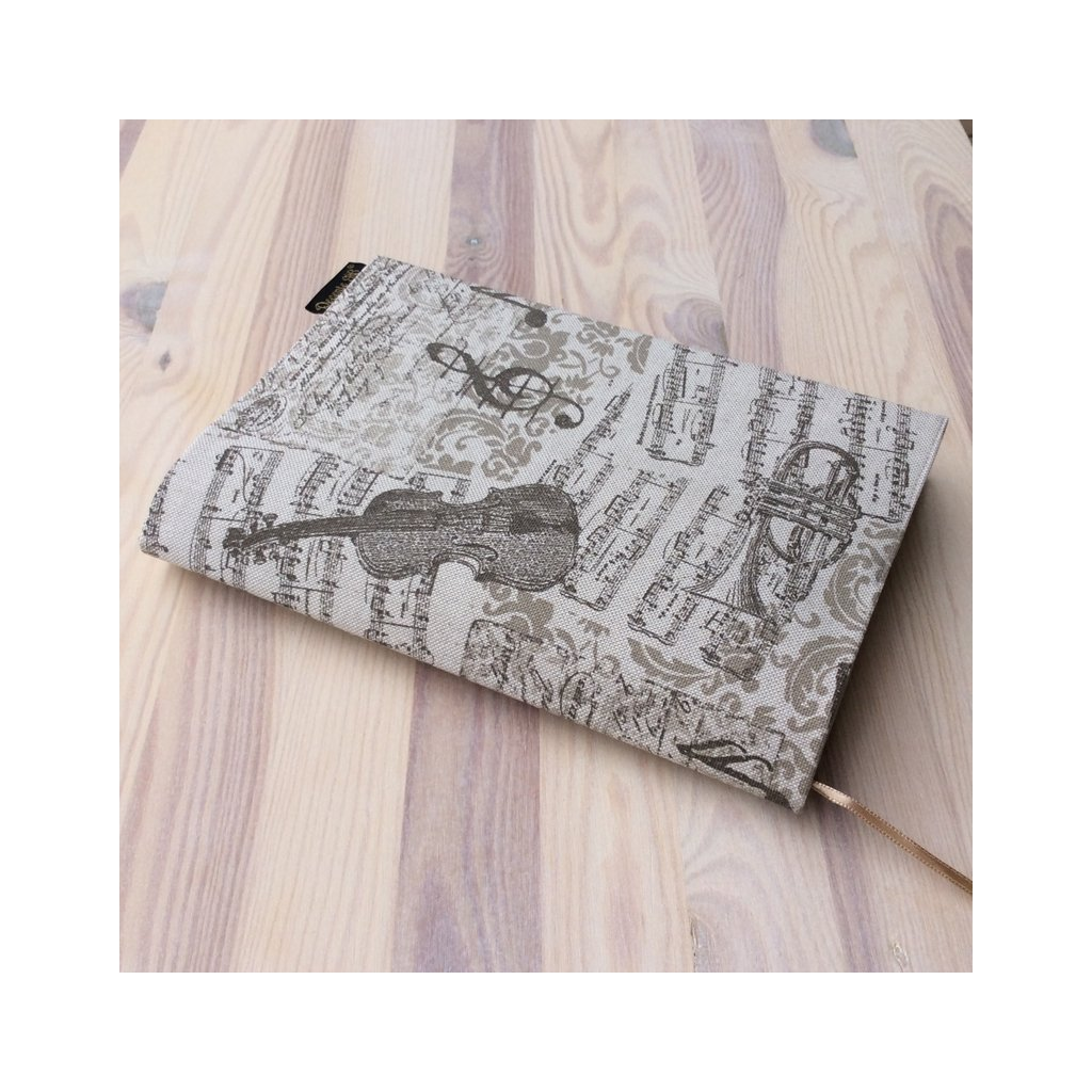 Obal na knihu Noty béžové, M1018