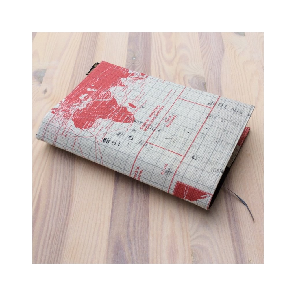 Obal na knihu Letadla červená 4, M1405