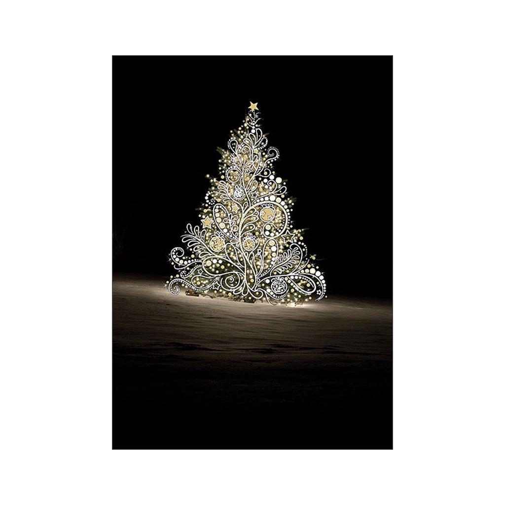 Přání do obálky Bug Art - White Tree