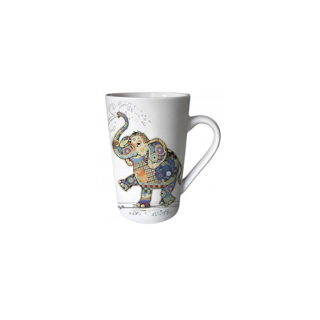 Porcelánový hrnek Slon 435ml, BUG ART
