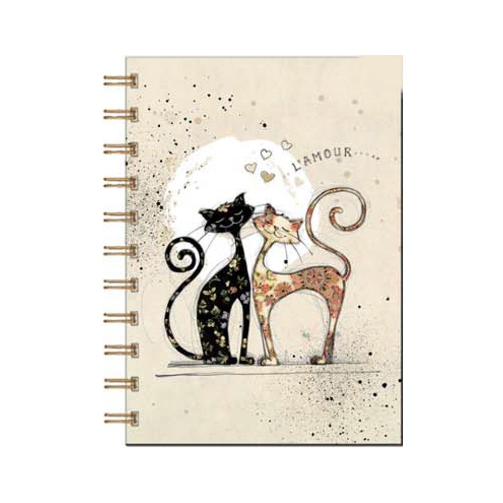 Zápisník Bug Art, Zamilované kočky A6