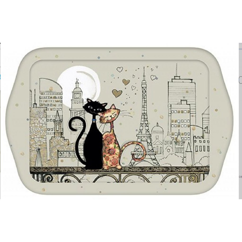 Tác Kočky v Paříži BUG ART