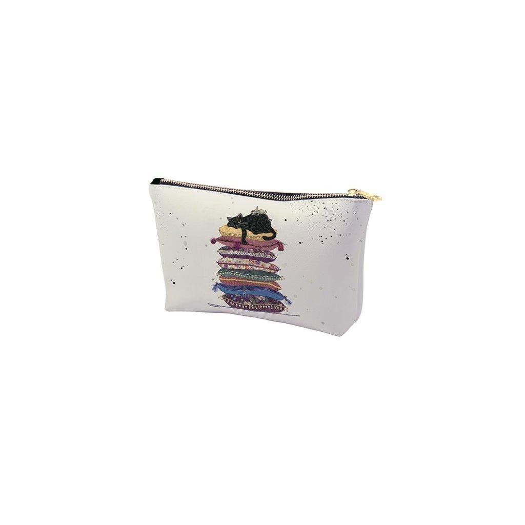 Kosmetická taška Kočka na polštářích  BUG ART KIUB