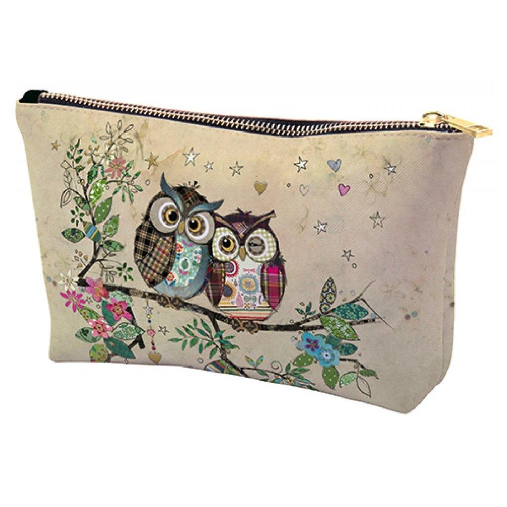 Kosmetická taška Sovičky  BUG ART KIUB