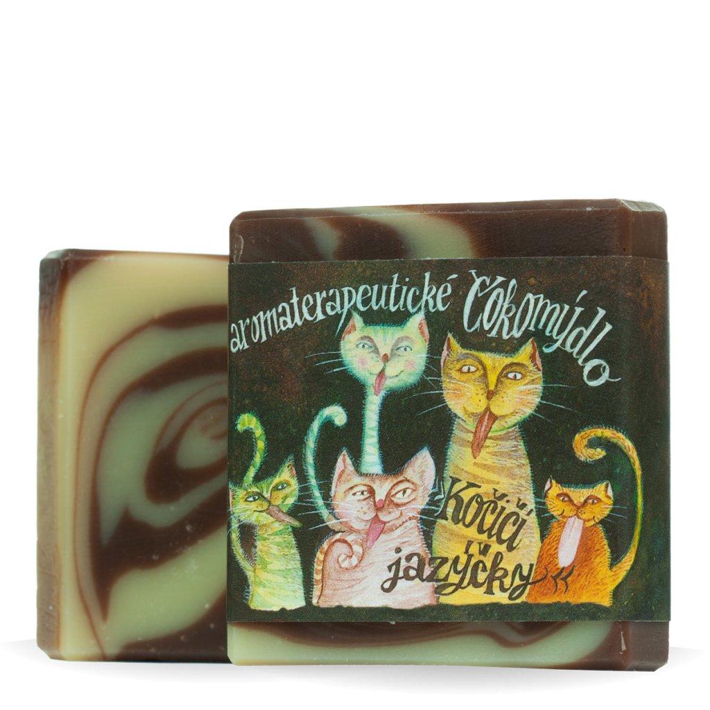 Mýdlo Kočičí jazýčky