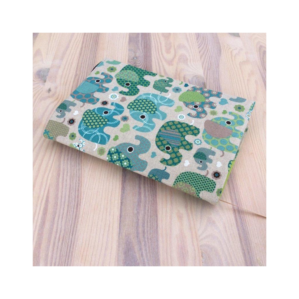 Obal na knihu Slon zelený, S1488
