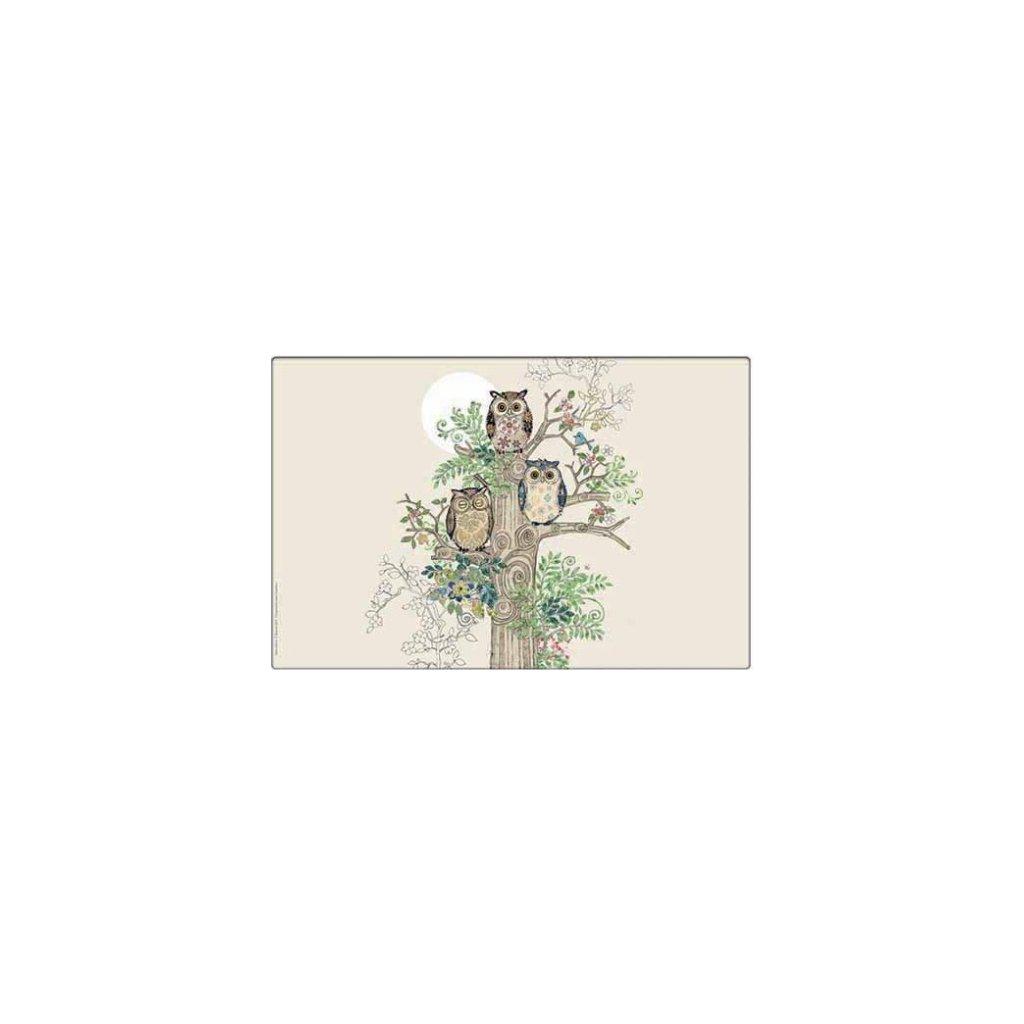 Prostírání Sovičky na stromě BUG ART