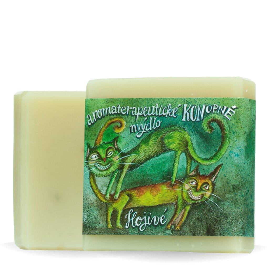 Konopné mýdlo hojivé