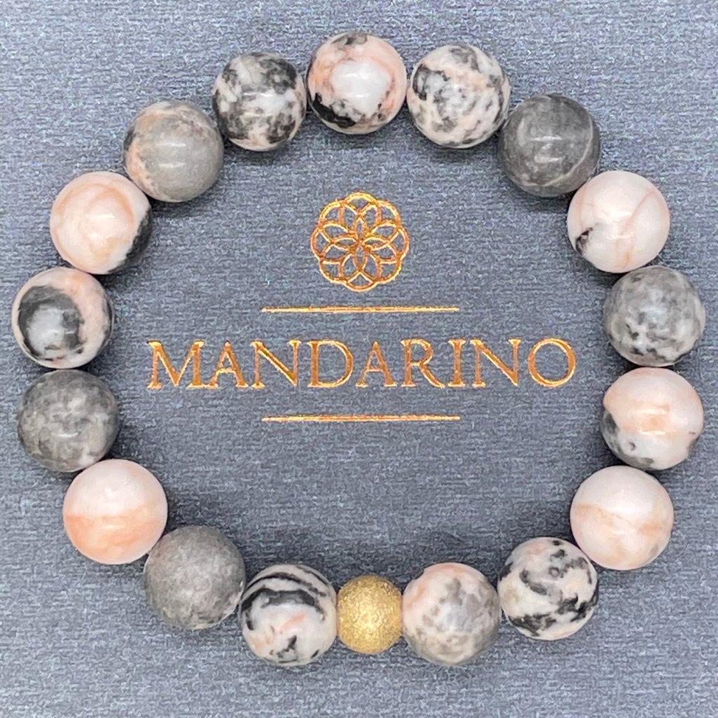 Náramek z minerálů, Jaspis (Mandarino.cz)
