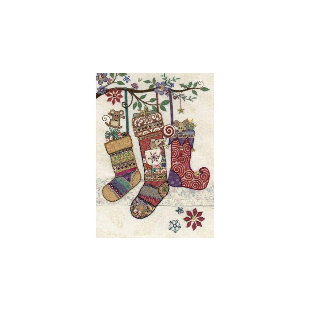 Přání do obálky Bug Art - Mice Stockings