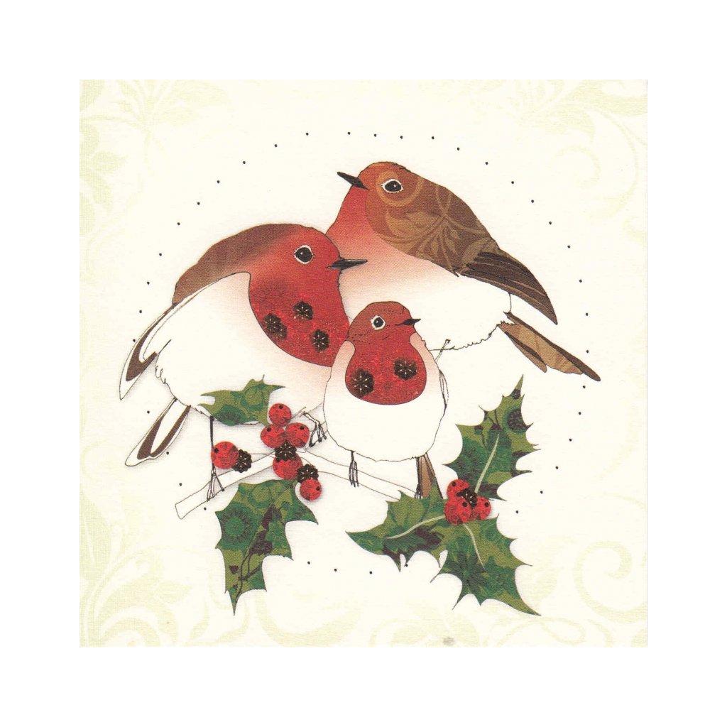 Přání do obálky Clear Creations - Forest Christmas 2