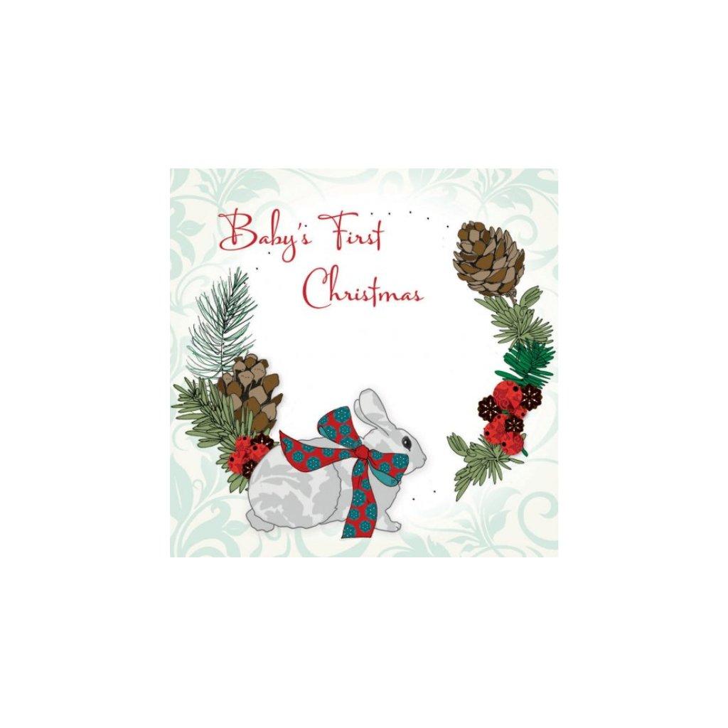 Přání do obálky Clear Creations - Forest Christmas 6