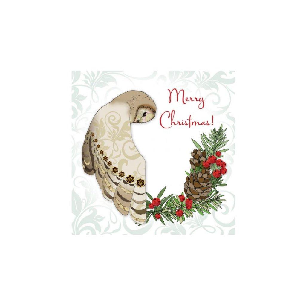 Přání do obálky Clear Creations - Forest Christmas 4