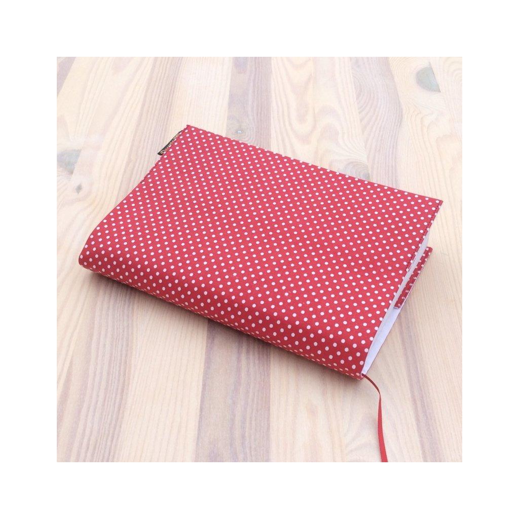 1085, Obal na knihu Bílý puntík na červené, Decente