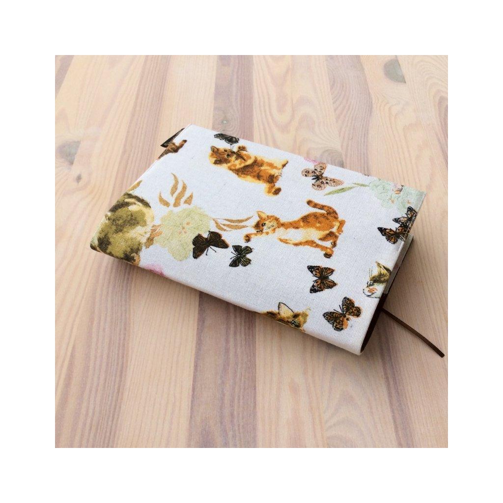 Obal na knihu Kočky a motýlci, L1323