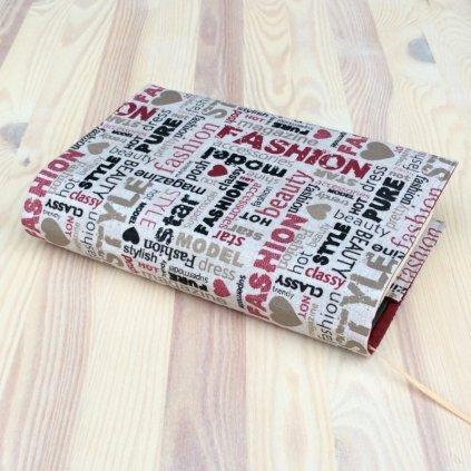 Obal na knihu Fashion, M1016