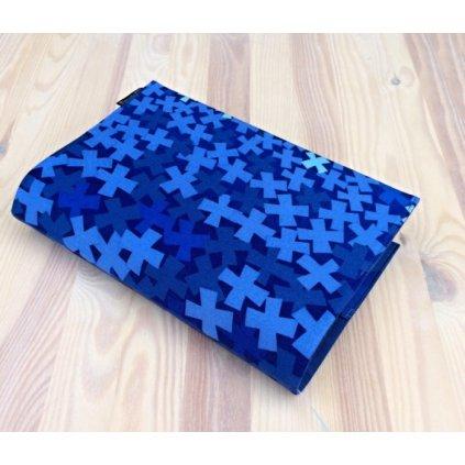 Obal na knihu TicTacToe modrý_1, M1233