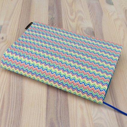 Obal na knihu Zigzag barevný, M1295