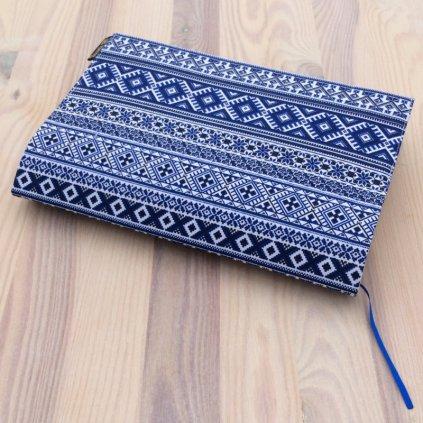 Obal na knihu Norský vzor modrý, M1342