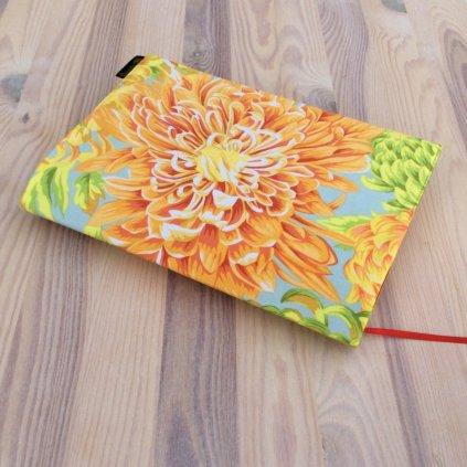 Obal na knihu Chrysantéma žlutá, M1452