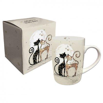 Porcelánový hrnek Zamilované kočky BUG ART
