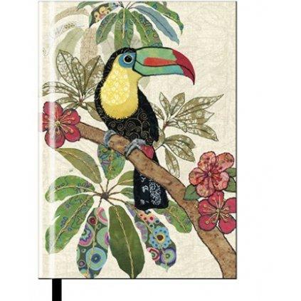 Zápisník Bug Art A6 - Tukan