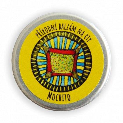 Přírodní balzám na rty Mochito
