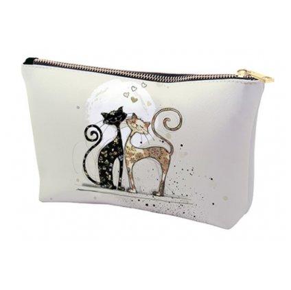 Kosmetická taška Zamilované kočky  BUG ART KIUB
