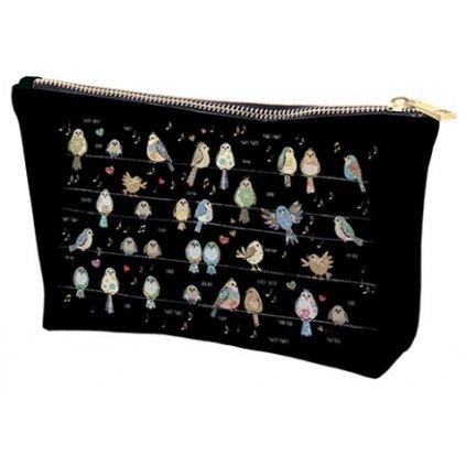 Kosmetická taška Ptáčci  BUG ART KIUB