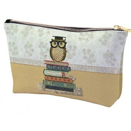 Kosmetická taška Moudrá sova  BUG ART KIUB