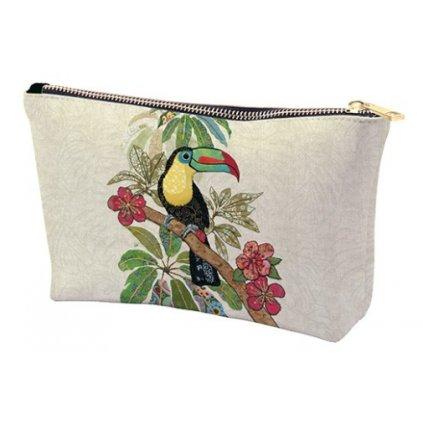 Kosmetická taška Tukan BUG ART KIUB