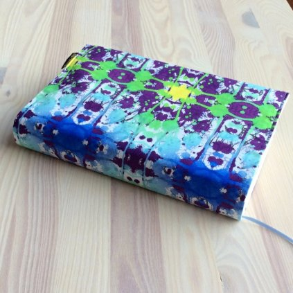 Obal na knihu Batika modrá, S1150