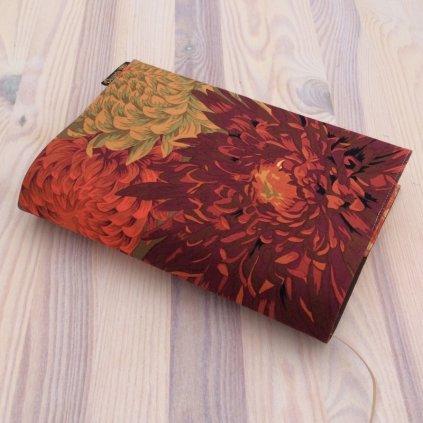 Obal na knihu Chrysantéma hnědé, S1453