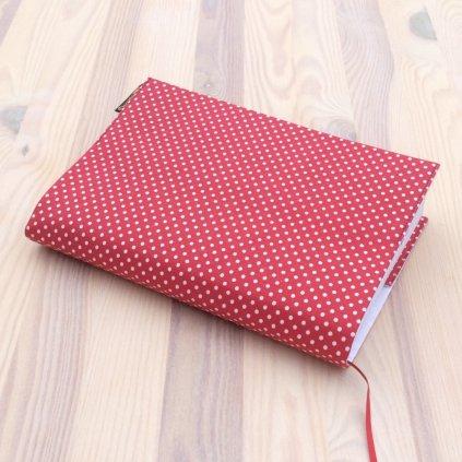 Obal na knihu Puntíky na červené, UNI-L1085