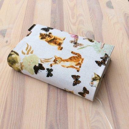 Obal na knihu Kočky a motýlci, UNI-M1323