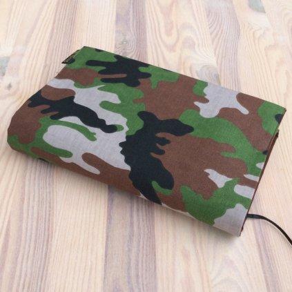 Obal na knihu Maskáč hnědý, UNI-M1520