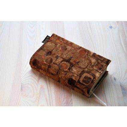 Obal na knihu Hnedé čtverce, UNI-XS1161