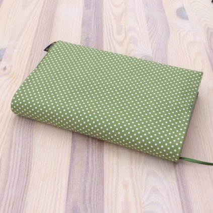 Obal na knihu Puntíky na zelené, UNI-XS1264