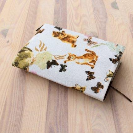 Obal na knihu Kočky a motýlci, UNI-XS1323