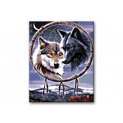 Vlci s talismanem, Malování podle čísel (2)