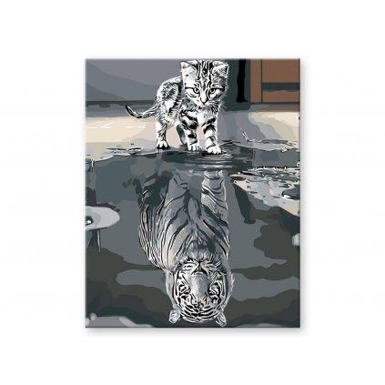 Kotě nebo tygr, Malování podle čísel (2)
